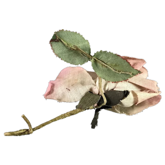 Antique Rose Flower Hat Embellishment