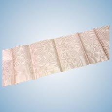Dusty Pink Silk Taffeta Brocaded Ribbon
