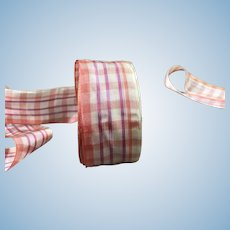 Roll of French Silk Ribbon