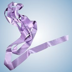 Vintage Lavender Ribbon Trim