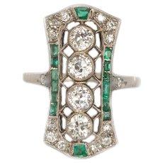 Circa 1930 14k Yellow Gold 1.00cttw Old European Brilliant Engagement Ring-VEG#124A