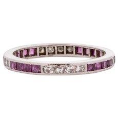 Circa 1920 900% Platinum .25ct Old European Brilliant Diamond Engagement Ring - VEG#1538