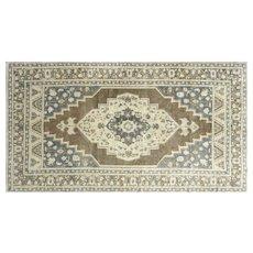 "1960s Turkish Oushak Carpet - 6'4"" x 11'6"""