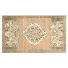 "1960s Turkish Oushak Carpet - 6'10"" x 11'8"""