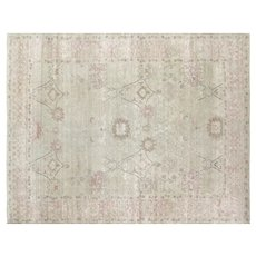 """1980s Egyptian Sultanabad Carpet - 7'9"""" x 10'1"""""""