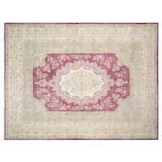 "1940s Persian Kerman Carpet - 8'11"" x 12'1"""