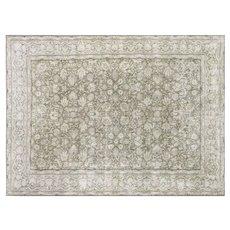 "1950s Persian Kerman Carpet - 8'8"" x 11'10"""