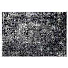 "1950s Overdyed Persian Kerman Carpet - 9'8"" x 13'10"""