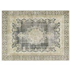 "1950s Persian Kerman Carpet - 9'2"" x 12'5"""