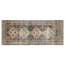 "1920s Persian Malayer Carpet - 4'6"" x 10'11"""