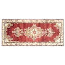 "1960s Turkish Oushak Carpet - 5'10"" x 13'10"""