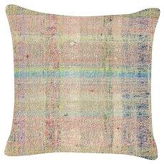 "1960s Turkish Hemp Pillow - 15"" x 15"""