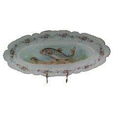 Limoges Oval Fish Platter