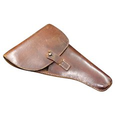 German Commercial Military leather holster