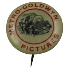 Metro-Goldwyn Pictures Lapel Pin