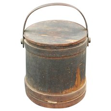 Antique Late 1700's/Early 1800's Firkin from German Family