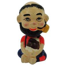 Hillbilly Moonshiner Bobble Head Toy Bank