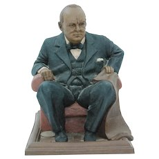 Winston Churchill Statue by Tom Clark