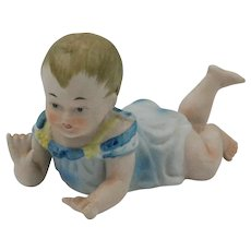 Vintage Porcelain Piano Baby