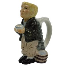 Collectible Oliver Twist Pitcher made in Staffordshire