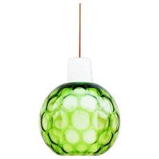 Bubble Glass Pendant Light By Aloys Gangkofner for PEILL & PUTZER C1960