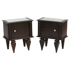 Mid Century Side Cabinets, Bedside Tables OR Nightstands c1950s France