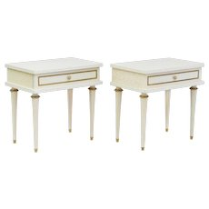 French Louis XVI Revival Nightstands C1950