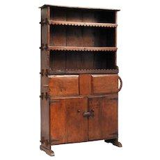 Provincial Folk Art Dresser Early 19th Century France