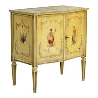 Hand Painted Venetian Style Cabinet C1960