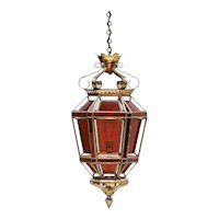 Mid Century Moroccan Lantern