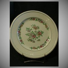 """Wedgwood """"Plymouth"""" Pattern Chop Plate/Round Platter"""