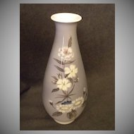 "Royal Copenhagen ""Danish Florals"" Pattern Vase"