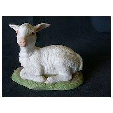 "Edward Marshall Boehm ""Lamb"" Figurine #400-97"