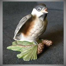 "Edward Marshall Boehm ""Baby Chickadee"" Figurine #461"