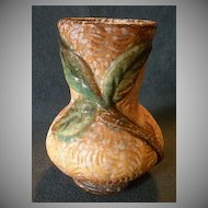 "Weller Pottery ""Malvern"" Pattern Vase"