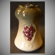 "Weller Pottery ""Floretta Vase"" w/Grapes Motif In Glossy Finish"