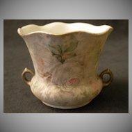 "Royal Bayreuth ""Rose Tapestry"" Vase or Open Sugar Bowl"