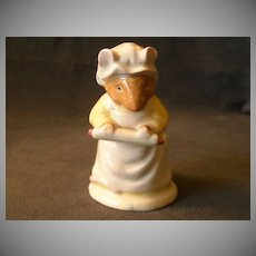 "Royal Doulton ""Mrs Crusty Bread"" Figurine From Brambly Hedge Collection"