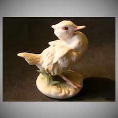 "Cybis Porcelain ""Baby Brother"" Duckling Figurine #361"