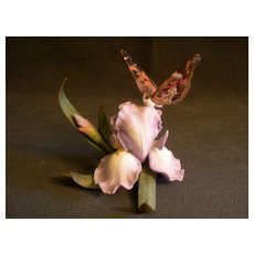 """Lenox """"Natures' Beautiful Butterflies Collection - American Painted Lady""""  Sculpture"""