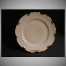 "Set of 4 - Charles Haviland & Co. Limoges ""Silver Anniversary"" Luncheon Plates - Schleiger #19"