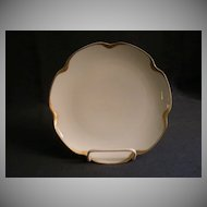 """Set of 5 - Haviland & Co. Limoges """"Silver Anniversary"""" Coup Salad Plates - Schleiger #19"""