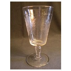 EAPG - Pair of Psyche & Cupid Water Goblets