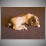 "Lladro ""Miniature Cocker Spaniel"" Porcelain Sculpture #5310"