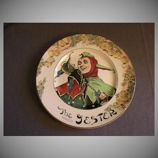 """Royal Doulton Professional Series """"The Jester"""" Plate - D6277"""