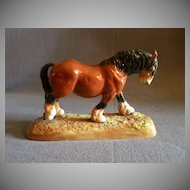 "Royal Doulton ""Pride Of The Shires"" Horse Figurine HN 2564"