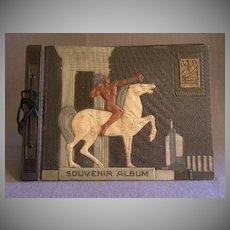 1933 Century of Progress Souvenir Album w/Native American Warrior Cover