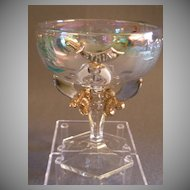 "Shriners/Masonic Syria Temple ""1911 Rochester NY"" Souvenir Champagne Glass"