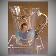 "Shriners/Masonic Syria Temple ""1904 Atlantic City"" Souvenir Hot Toddy Cup"