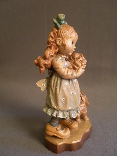 Anri Of Italy Quot Our Puppy Quot Limited Carving 50 2000 By Sarah